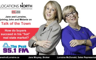 Jane and Lorraine share their expertise on 95.1 The Peak's Talk of the Town