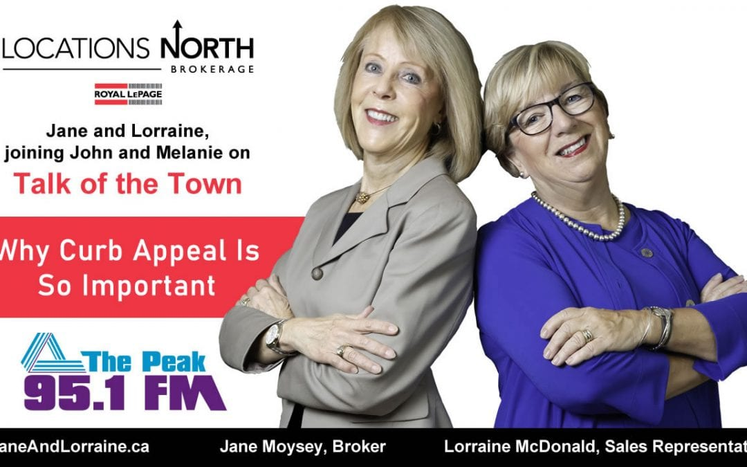 Jane and Lorraine talk about curb appeal