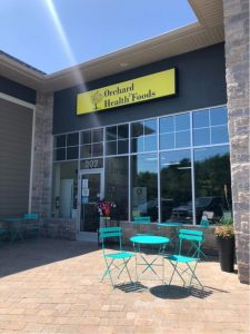 Orchard Health Foods Store Front