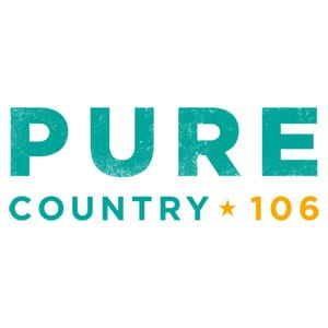 Pure Country 106 Logo