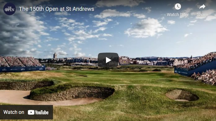 St Andrews Old Course Video
